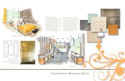 interior design print portfolio layout section from my interior