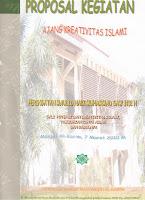 Ajang Kreativitas Islami: PROPOSAL KEGIATAN .