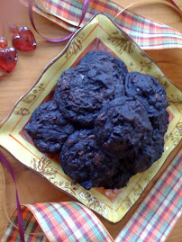 Dark Chocolate Tri Berry Cookies