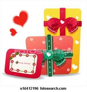 Christmas gift cards for loved ones