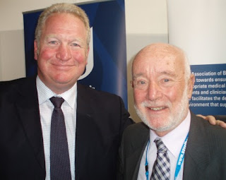 Mike Menning MP and Richard Brown