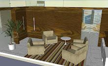 projeto sala de reuniões informal