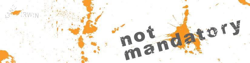 Not Mandatory