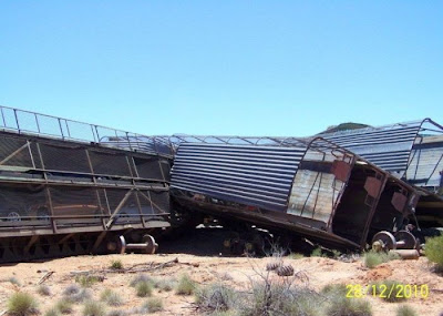 Derailment of a Car Carrier Seen On www.coolpicturegallery.us