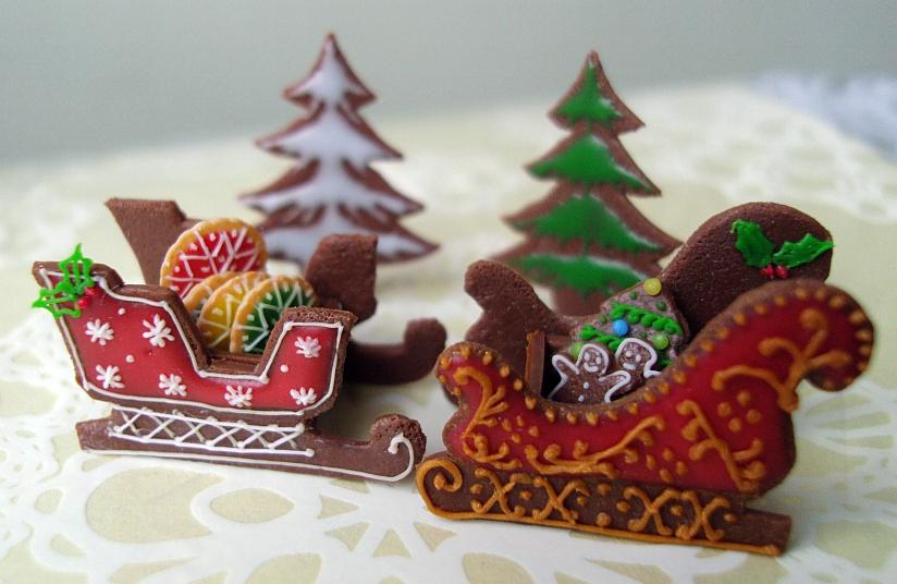 Snowfern Clover Miniature Foods 1 12 1 24 1 48 Dollhouse Scale