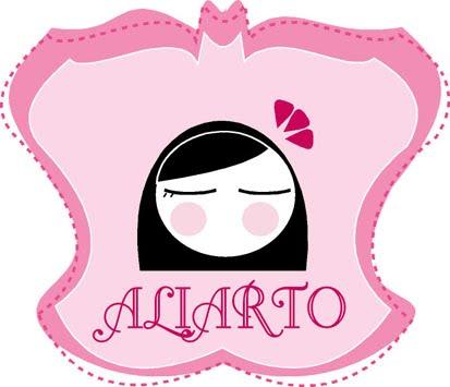 aliarto (diademas, broches, chupeteros,  invitaciones de boda,  felt doll y camisetas)