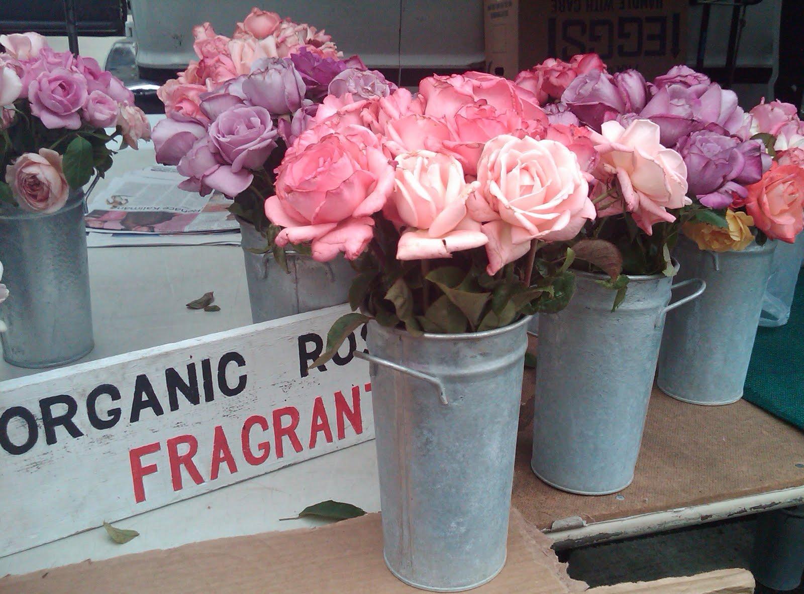Flowers at the Santa Monica Farmers Market