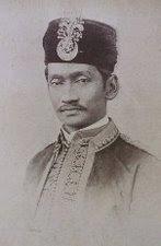 YAM Sultan Abdul Rahman Muazam Shah, Yang DiPertuam Besar Kerajaan Riau Lingga.