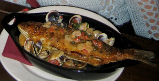 Marco Cucina Ristorante Divinebella Boston Restaurant North End Branzino Pesce Fish Dinner Romantic Italian