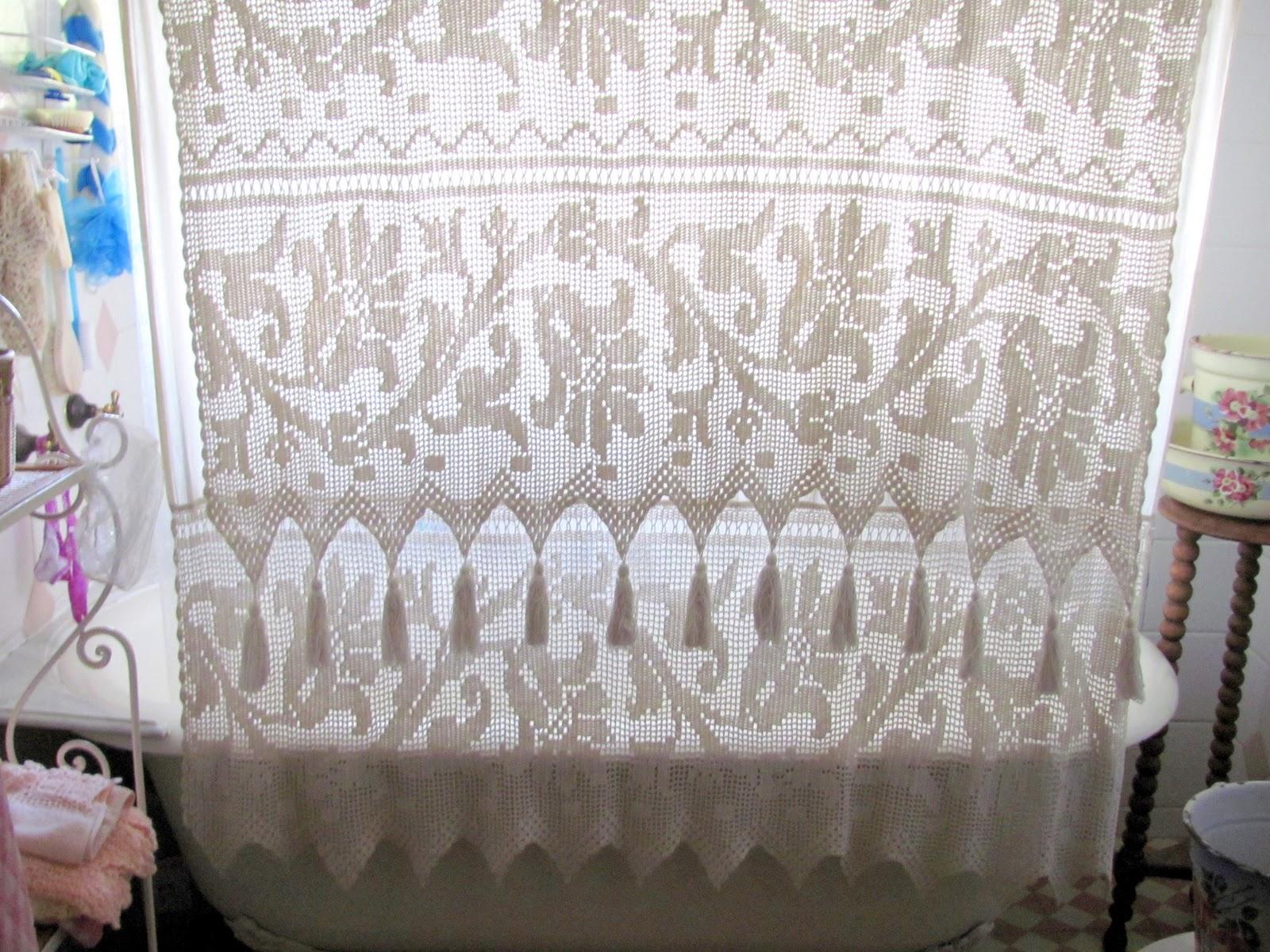Casa Dulce Hogar Octubre 2010 ~ Cortinas De Ganchillo Para Baño