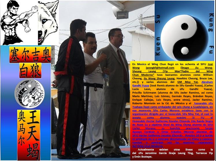 Linaje en el Wing Chun