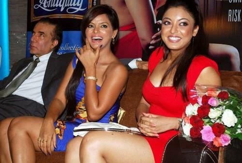 Tanushree Dutta  amp  Neetu Chandra Hot in Apartment Bash PicsNeetu Chandra Hot In Apartment