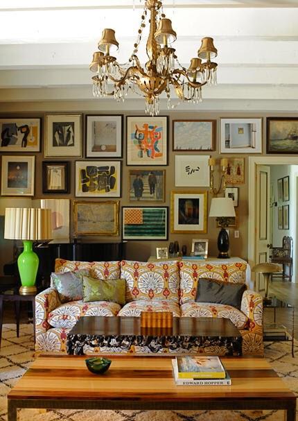La dolce vita bohemian rhapsody for 1920s interior decoration