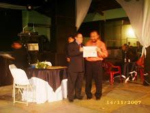 TROFÉU IMPRENSA 2007 AABB DE POMBAL EM 14-11-07