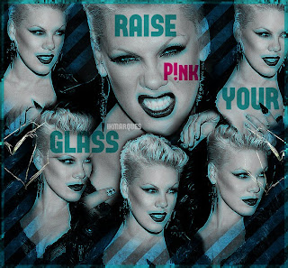 Raise Your Glass blend pink no pfs