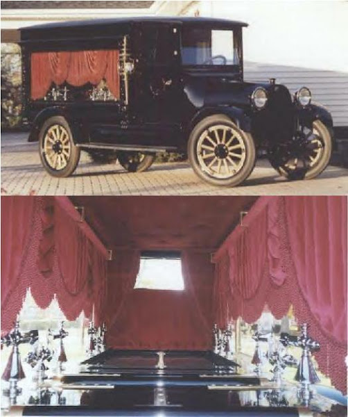 1919 Reo Funeral Coach ~