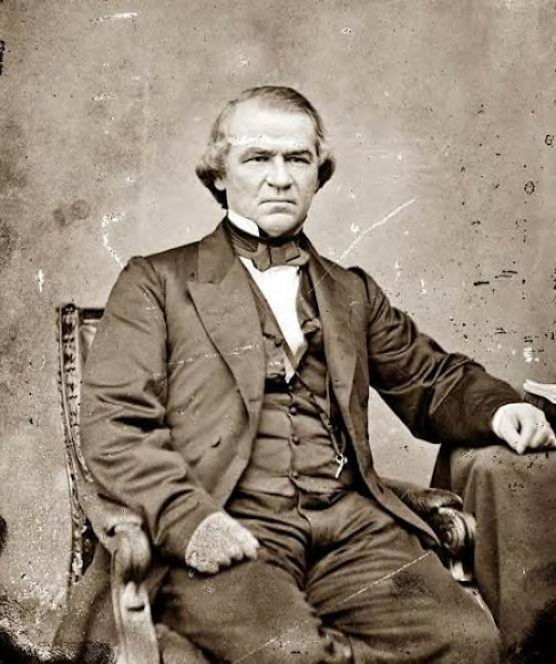 Vice President; second term, Andrew Johnson