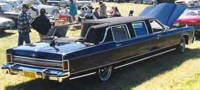 1970 Lincoln Open Top Parade Limousine ~