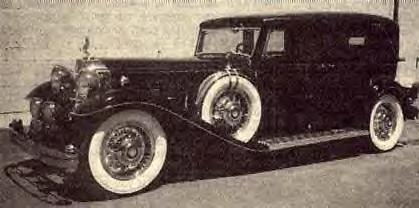 1932 Packard Cabriolet Limo ~