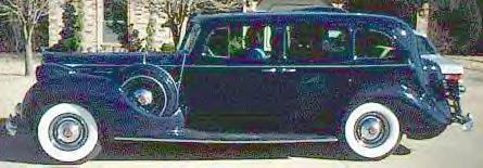 1938 Packard V-12 7-Passenger Limo ~