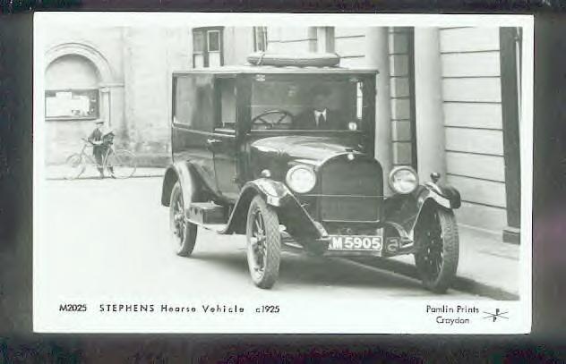 1925 Stephens Hearse ~