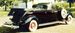 1938 Packard Flower Car ~