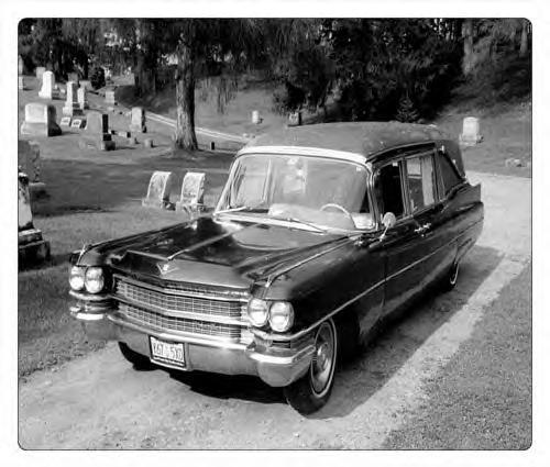1963 Cadillac Hearse ~