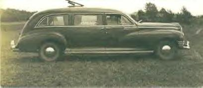 1943 Packard Hearse ~