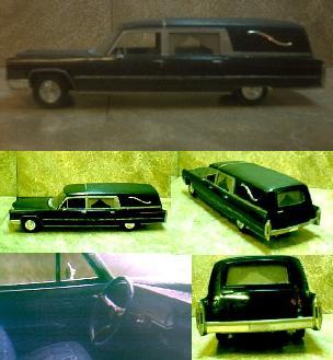 """1966 Cadillac """"Half Coach"""" Hearse ~"""