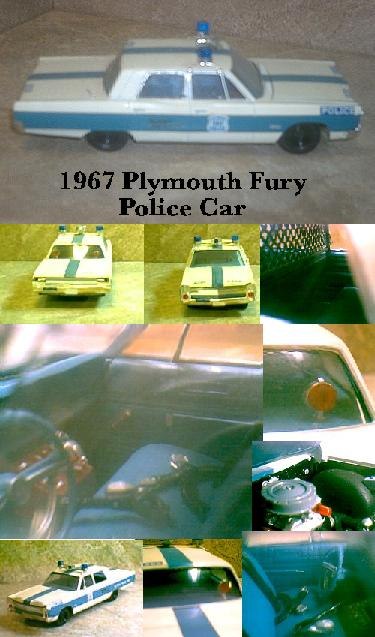 1967 Plymouth Fury Police Car ~