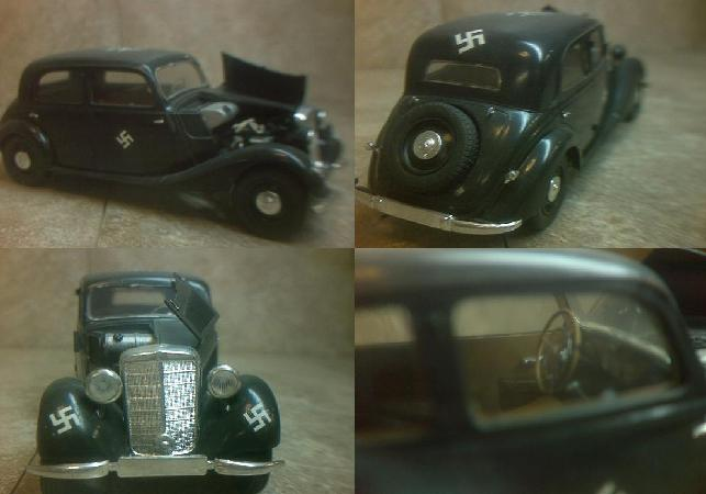 Hitler's Staff Car ~
