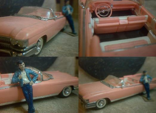 Elvis Presley's 1959 Pink Cadillac Convertible