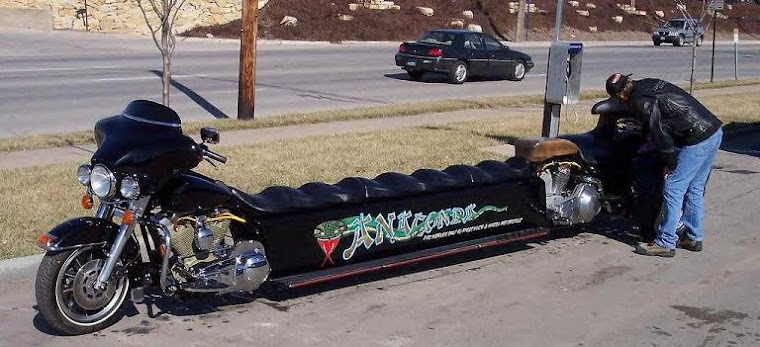 Stretch limo for that rich biker