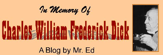 In Memory of Charles William Frederick Dick