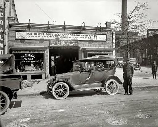 Washington, D.C., 1925. Northeast Auto Exchange, H Street