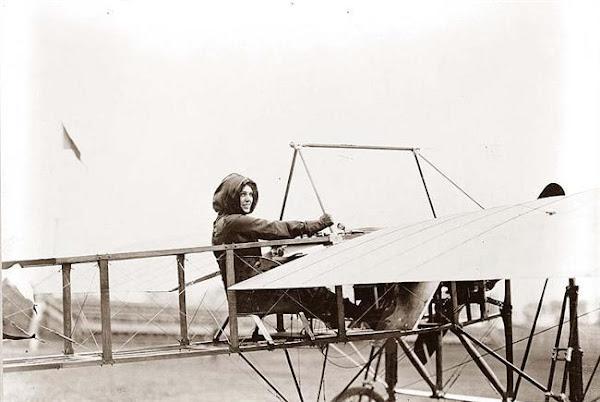 Harriet Quimby. 1911