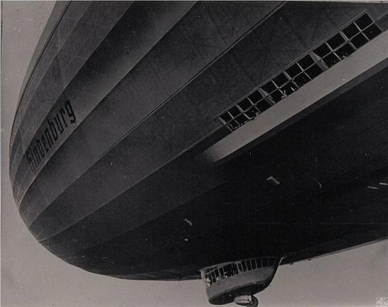 German Airship Hindenburg