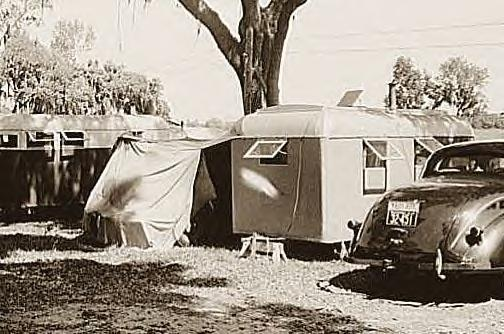 Dade City Tourist Camp, Florida, 1939