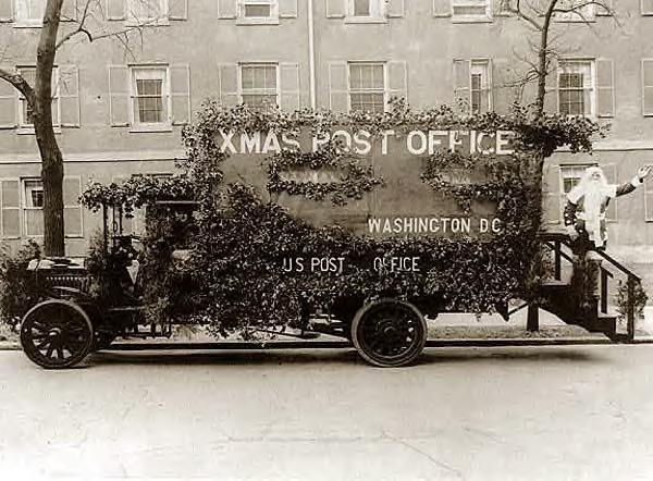 Christmas Post Office. 1921