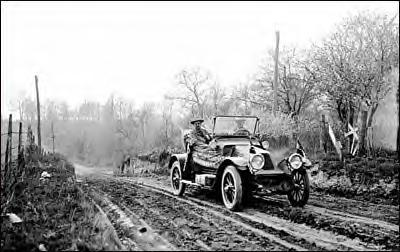 Pike's Peak road run 1913