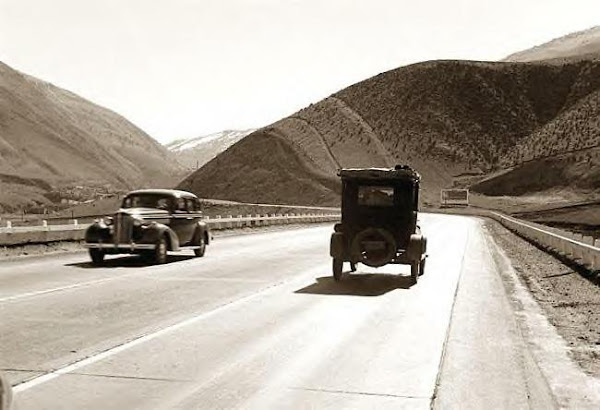 US 99, Kern County, 1939