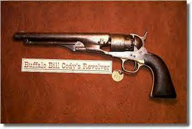 Buffalo Bill Cody's black powder revolver