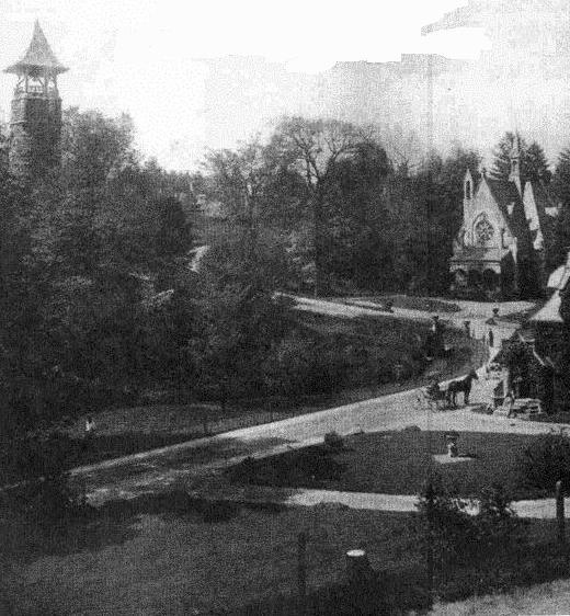 Glendale Cemetery, 1890s ~