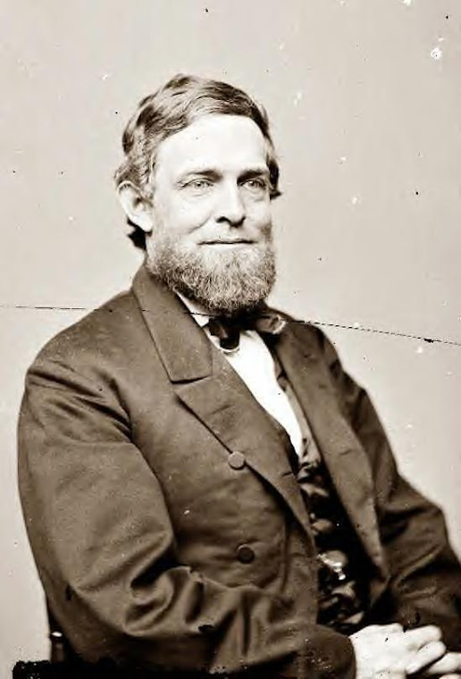 Schuyler Colfax of Indiana, Vice President to US Grant, 1865
