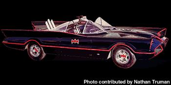 Click link for the history of every Batmobile created for the comic's, TV & movies