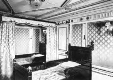 1st Class Double Empire Cabin