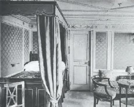 Stateroom B-64, 1st Class