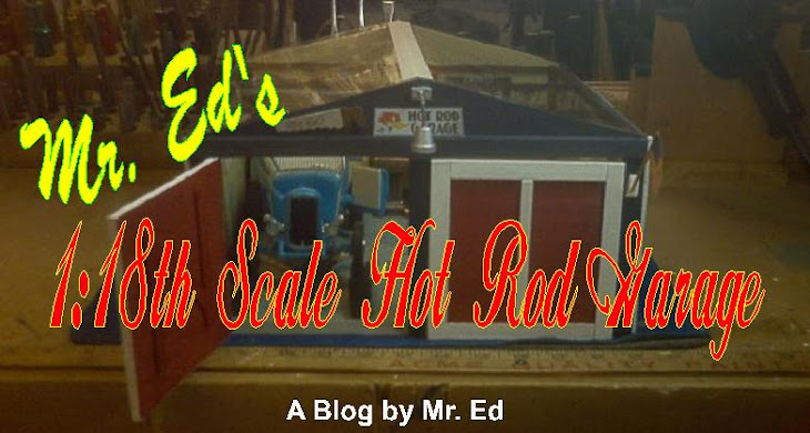 Mr. Ed's 1:18th Scale Hot Rod Garage