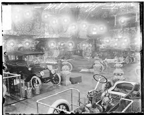 Auto show. Chicago. 1914