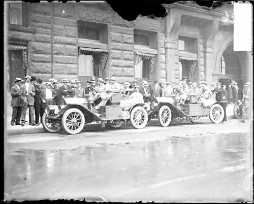 Glidden Auto Tour. Chicago. 1909